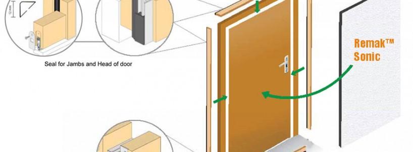 Xử lý cửa cách âm phòng thu