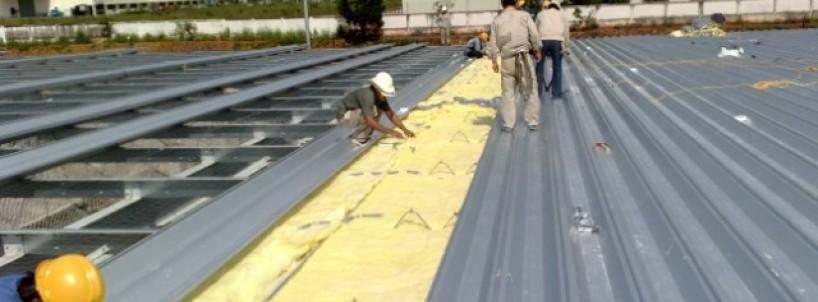 Chống nóng cho mái nhà vào mùa hè