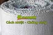 Vải amiang chống cháy là gì? Tính chất và ứng dụng