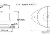 Đệm lò xo giảm chấn chống rung, chống ồn máy 1