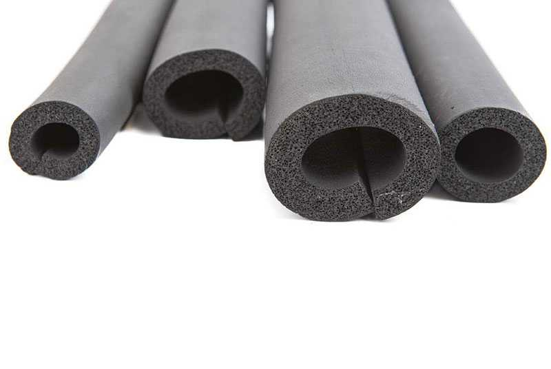 Cao su lưu hóa ống điều hòa 1