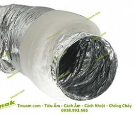Ống gió mềm có bảo ôn polyester