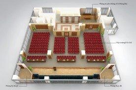 Hội trường 210 chỗ ngồi Ngân hàng Vietinbank - 183 Nguyễn Lương Bằng, Hà Nội