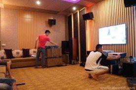 Phòng Karaoke và giải trí đa năng nhà anh Đạt - Vạn Phúc