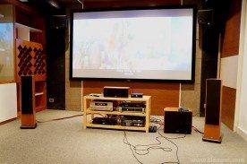 Phòng xem phim và giải trí gia đình - Vincom Village