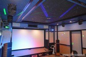 Thiết kế và thi công trang âm phòng chiếu phim gia đình A Hoàng Mandarine