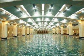 Xử lý tiêu âm bể bơi trong nhà - Tòa nhà Hapulico