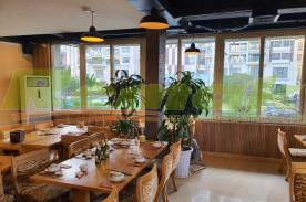 Thi công gỗ tiêu âm sang trọng cho nhà hàng dê ré Song Dương 39-Trần Kim Xuyến