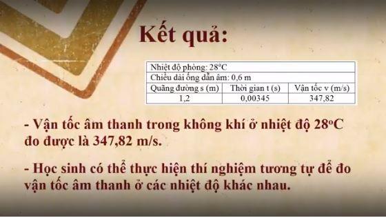 Vận tốc âm thanh trong không khí ở 28 độ là 347.82 m/s